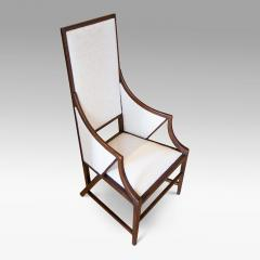 Giacomo Cometti Highly Sculptural Armchair in Oak by Giacomo Cometti - 1084382