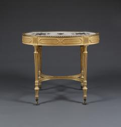 Giacomo Raffaelli A Giltwood Center Table With Marble Top Attributed To Giacomo Raffaelli - 326567