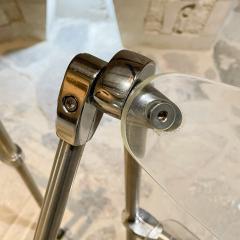 Giancarlo Piretti Modern Lucite Chrome Folding Chairs Giancarlo Piretti for Castelli 1960s ITALY - 2083088