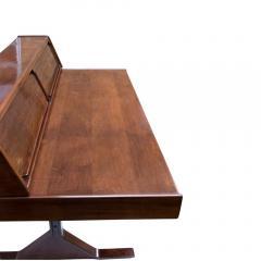 Gianfranco Frattini 1950s Writing Desk Italian Design By Gianfranco Frattini For Bernini Rosewood - 1682526
