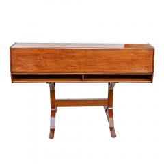 Gianfranco Frattini 1950s Writing Desk Italian Design By Gianfranco Frattini For Bernini Rosewood - 1682527