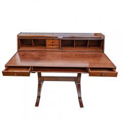 Gianfranco Frattini 1950s Writing Desk Italian Design By Gianfranco Frattini For Bernini Rosewood - 1682528