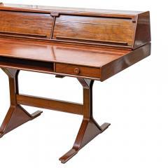 Gianfranco Frattini 1950s Writing Desk Italian Design By Gianfranco Frattini For Bernini Rosewood - 1682529