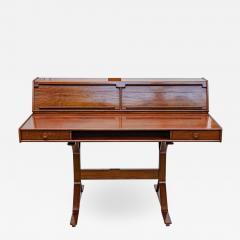 Gianfranco Frattini 1950s Writing Desk Italian Design By Gianfranco Frattini For Bernini Rosewood - 1685053