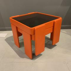 Gianfranco Frattini 1970s Gianfranco Frattini Laminated Nesting Tables Cassina Italy - 1556972
