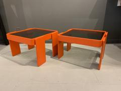 Gianfranco Frattini 1970s Gianfranco Frattini Laminated Nesting Tables Cassina Italy - 1556973