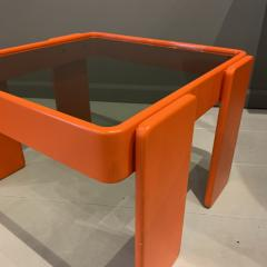 Gianfranco Frattini 1970s Gianfranco Frattini Laminated Nesting Tables Cassina Italy - 1556977