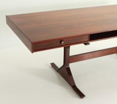 Gianfranco Frattini Gianfranco Frattini Large Rosewood Desk for Bernini - 1551974