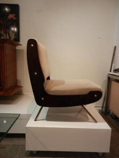Gianfranco Frattini Gianfranco Frattini Pair of Mid Century Slipper Chairs - 251741