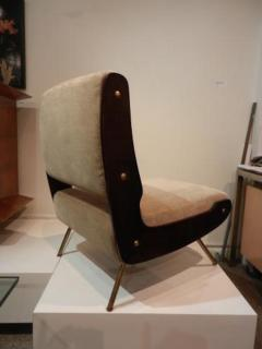 Gianfranco Frattini Gianfranco Frattini Pair of Mid Century Slipper Chairs - 251743