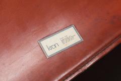 Gianfranco Frattini Gianfranco Frattini armchairs model Lalanda in dark cognac leather 1970s - 1999172