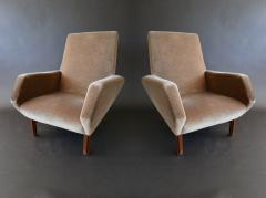 Gianfranco Frattini Pair of Italian Modern Prototype Chairs - 917890