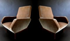 Gianfranco Frattini Pair of Italian Modern Prototype Chairs - 917891