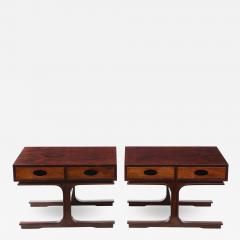 Gianfranco Frattini Pair of Low Tables By Gianfranco Frattini for Bernini - 1717953