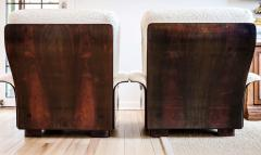 Gianfranco Frattini Pair of Rare Italian Lounge Chairs by Gianfranco Frattini for Cassina - 1939749