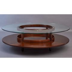 Gianfranco Frattini Spectacular Coffee Table by Gianfranco Frattini for Cassina Italy 1960s - 320774