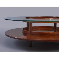 Gianfranco Frattini Spectacular Coffee Table by Gianfranco Frattini for Cassina Italy 1960s - 320777