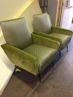 Gianfranco Frattini Stylish Midcentury Italian Chairs by Gianfranco Frattini - 686963