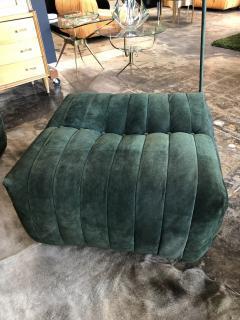 Magnificent Gianfranco Grignani Modular Green Sectional Sofa Giannone By Arch G Grignani For 7Salotti Italy Unemploymentrelief Wooden Chair Designs For Living Room Unemploymentrelieforg