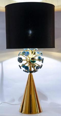 Gianluca Fontana Fantastic pair of lamps with agates by Gianluca Fontana - 731003