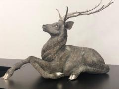 Gianmaria Buccellati a Rare and Exceptional Italian Silver Deer Stag - 955240