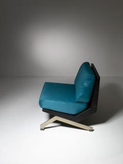 Gianni Moscatelli Pair of Lounge Chairs by Gianni Moscatelli for Formanova - 1236901