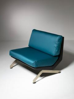 Gianni Moscatelli Pair of Lounge Chairs by Gianni Moscatelli for Formanova - 1236902
