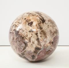 Giant Polished Petrified Wood Sphere  - 1138527