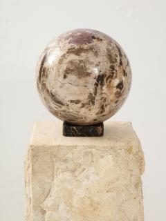 Giant Polished Petrified Wood Sphere  - 1138536