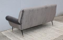 Gigi Radice Gigi Radice Gray Velvet Sofa - 1121225