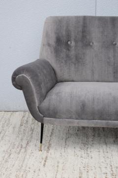 Gigi Radice Gigi Radice Gray Velvet Sofa - 1121226