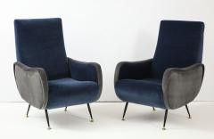 Gigi Radice Pair of Italian arm chairs by Gigi Radice Italy - 1207317