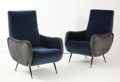 Gigi Radice Pair of Italian arm chairs by Gigi Radice Italy - 1207318