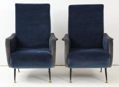 Gigi Radice Pair of Italian arm chairs by Gigi Radice Italy - 1207319