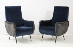Gigi Radice Pair of Italian arm chairs by Gigi Radice Italy - 1207320