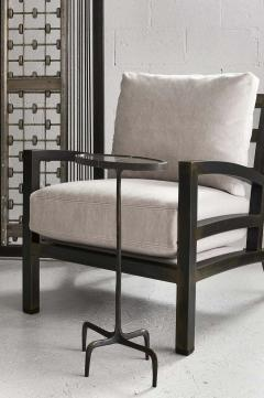 Gil Melott Gil Melott BESPOKE TX6315 Handmade Custom Steel Urban Lounge Chair for Studio 6F - 1468185