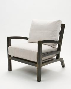 Gil Melott Gil Melott BESPOKE TX6315 Handmade Custom Steel Urban Lounge Chair for Studio 6F - 1472803
