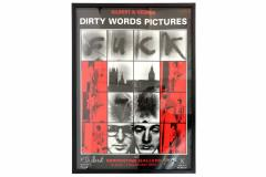 Gilbert George Dirty Words Pictures Fuck by Gilbert George - 266583
