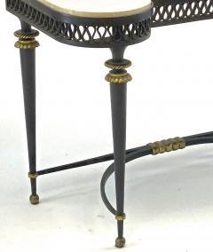 Gilbert Poillerat Gilbert Poillerat superb wrought iron console with gold bronze accent - 1525422