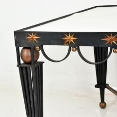 Gilbert Poillerat Mid Century French Modernist Star Dining Table After Gilbert Poillerat - 906547