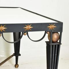 Gilbert Poillerat Mid Century French Modernist Star Dining Table After Gilbert Poillerat - 906550