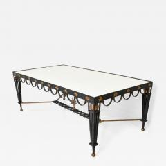 Gilbert Poillerat Mid Century French Modernist Star Dining Table After Gilbert Poillerat - 908222
