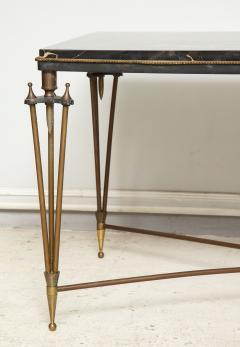 Gilbert Poillerat Rare Bronze and Iron Coffee Table Design Inspired by Gilbert Poillerat - 1156556