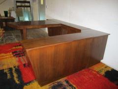 Gilbert Rohde Amazing 4 Piece Gilbert Rohde style Desk Credenza Mid century Modern - 1768719