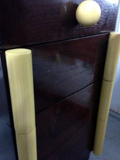Gilbert Rohde Art Deco Vanity Desk And Mirror Gilbert Rohde for Cavalier - 62976
