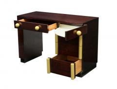 Gilbert Rohde Art Deco Vanity Desk And Mirror Gilbert Rohde for Cavalier - 62978