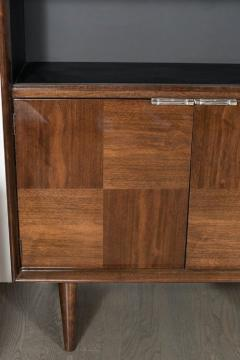 Gilbert Rohde Art Deco Walnut Bar or Cabinet Designed by Gilbert Rohde for Herman Miller - 1508085