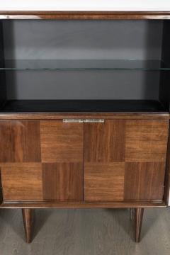 Gilbert Rohde Art Deco Walnut Bar or Cabinet Designed by Gilbert Rohde for Herman Miller - 1508086