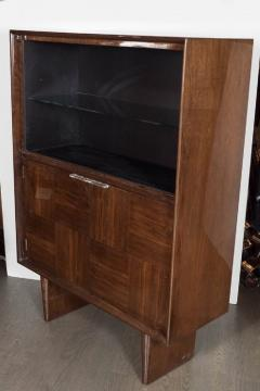 Gilbert Rohde Art Deco Walnut Bar or Cabinet Designed by Gilbert Rohde for Herman Miller - 1508087