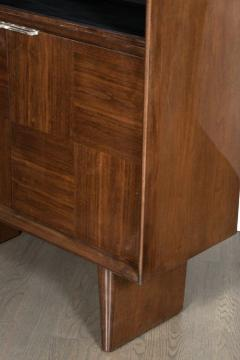 Gilbert Rohde Art Deco Walnut Bar or Cabinet Designed by Gilbert Rohde for Herman Miller - 1508088